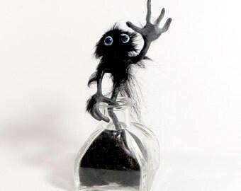 Posable Mini Puppet - InkWorm