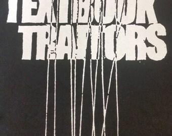 TEXTBOOK TRAITORS hoodie (hardcore, emoviolence, screamo band)