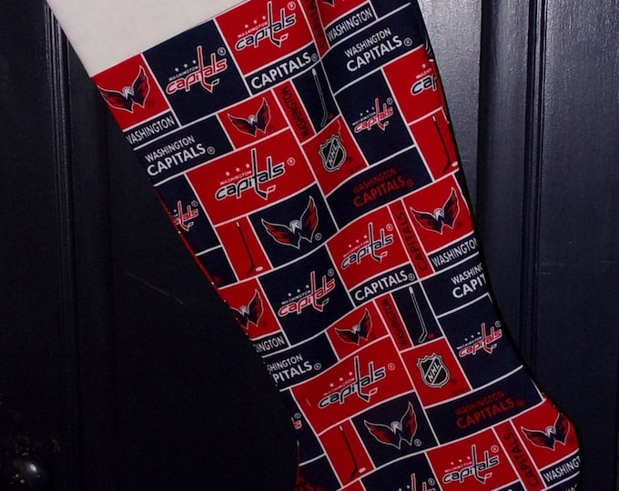 Capitals Christmas Stocking