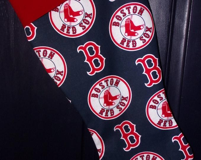 Boston Red Sox Christmas Stocking
