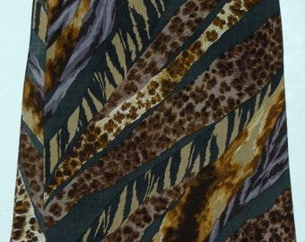 HIROKO KOSHINO Japan Wool Scarf 19 x 62 Shawl
