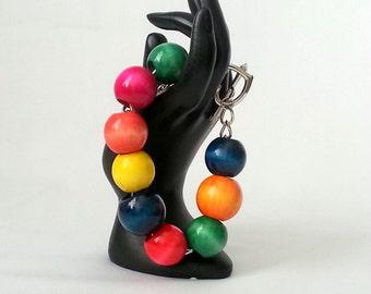 Wood Bracelet Chain Bracelet Summer Bracelet Handmade JEWELRY Gift Ideas Ready to Go