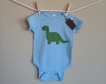 Baby Brontosaurus Onesie