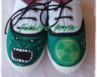 Hulk Shoes, Hulk, Incredible hulk, Kids shoes, Sneakers, slippers, shoes pesonalized.
