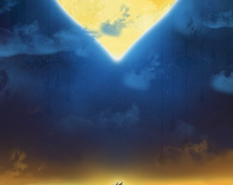 Sora - Kingdom Hearts Print