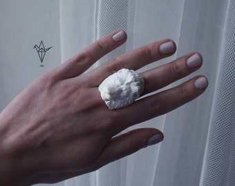 Ring with a leon.