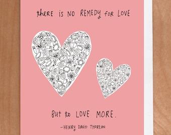 LOVE MORE A2 Card (2-23C)