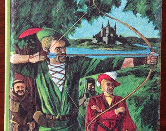 The Merry Adventures of Robin Hood By Howard Pyle- Vintage Book, 1965