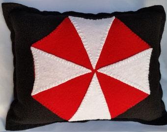 Umbrella corperation pillow