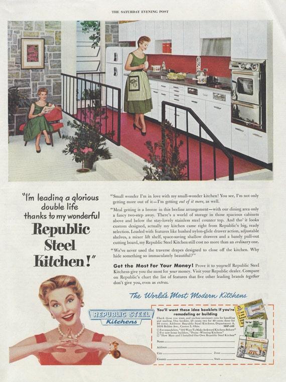50s Kitchen Ad