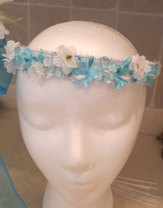 flower girl halo wedding bridal hair by vintageweddingchic on etsy. Black Bedroom Furniture Sets. Home Design Ideas