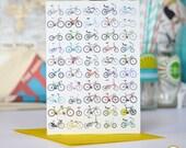 Bicycle Bike Greeting or Birthday Card Pack