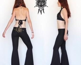 Pixie pants. Flow pants. Wide leg pants. Dance pants. Yoga pants. Festival pants. Hoop clothing.