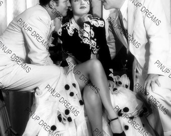 "Vintage Retro Photo Wall Art Print of Dorothy Lamour Movie Star size A4 (11.7"" x 8.3"")"