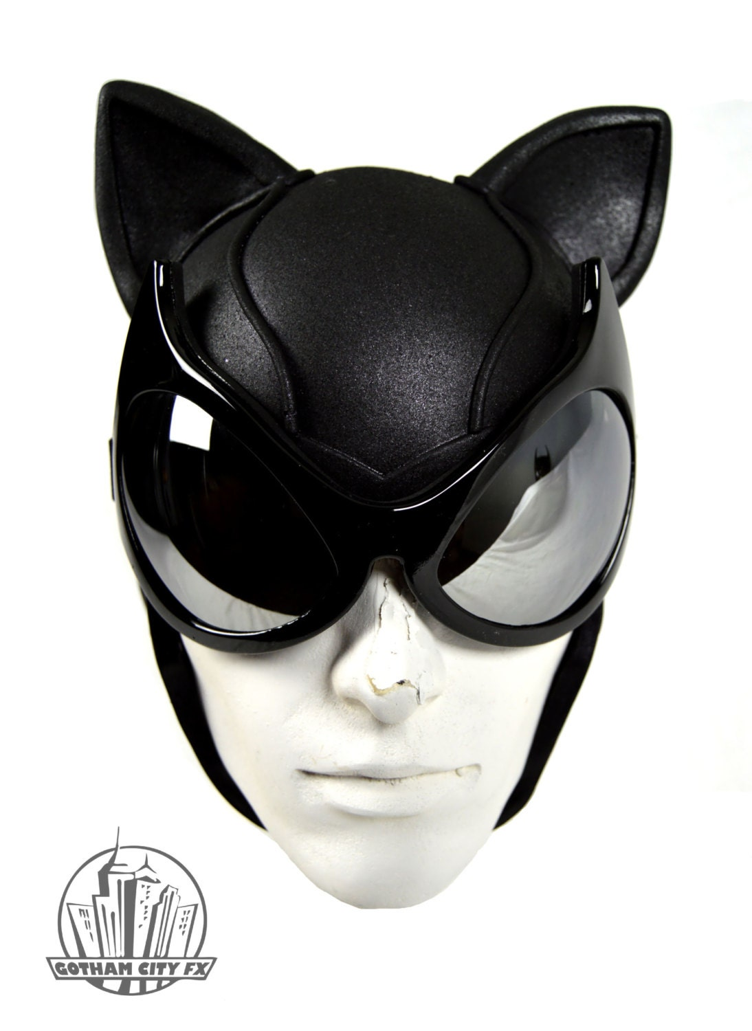 Uncategorized Catwoman Mask Template batman cat woman arkham city cowl with mirrored goggles