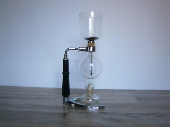 vintage ancienne cafeti re cona n 1 verre par theatticoffrance. Black Bedroom Furniture Sets. Home Design Ideas