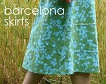 Barcelona Skirts Pattern from Amy Butler
