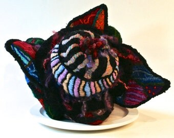 Ormus Plutonium - Surreal Embroidery Sculptured Handbag