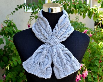 Knitting Pattern Only - Urban Cables Scarf