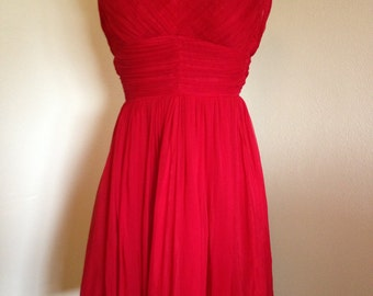 1950s/1960s Red Party Dress