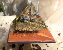 Orgonite Orgone Pyramid for Mental Clarity