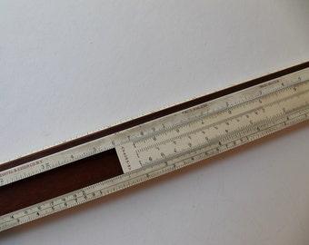 1950s Keuffel & Esser Co. Slide Ruler, Model N4053-3