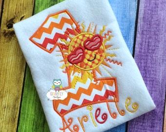 Sunshine Birthday Shirt or Bodysuit, Sun Birthday Shirt, Sunshine Birthday Theme, First Birthday