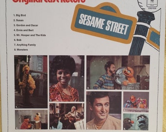 SESAME STREET - Original Cast - LP Record CR21530