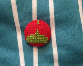 Space Invader Shooter Button