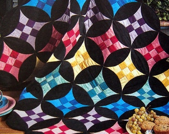 Going In Circles With Nine-Patch 5 Creative Projects By Lucy Fazely Quilt Pattern Pattern Leaflet 1999