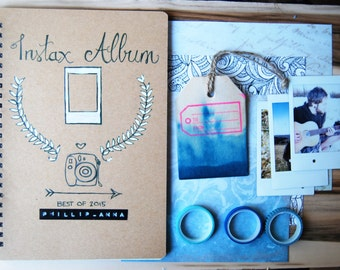 Instax Album | Journal | customizable