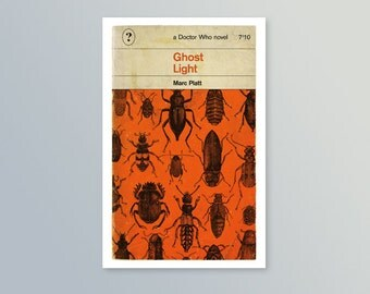 Doctor Who | Ghost Light | Penguin-style book cover postcard
