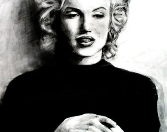 Items similar to queen size quilt marilyn monroe the ture - Marilyn monroe diva ...
