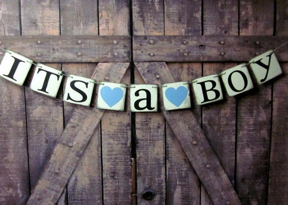 baby shower banners its a boy signs baby shower signs rustic, Baby shower invitation