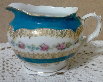 Royal Austria O&EG Creamer, Porcelain Creamers, Victorian Creamers, Vintage Creamers, Austrian Creamers, Austrian Bone China