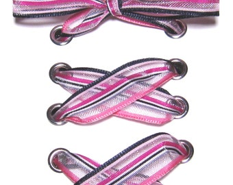 striped shoelaces etsy