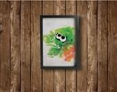 SQUID poster - Inslpired by Splatoon!