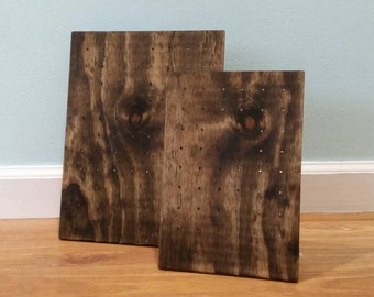 Wooden Earring Display - Jewelry Stand - Handmade