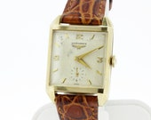 10K Gold Filled Longines Wrist Watch
