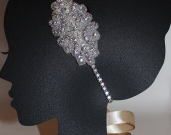 Rhinestone Headpiece - Rhinestone Headband - Rhinestone Crown - Bridal Rhinestone Headband - Diamond Headpiece - Crystal Headband - Tiara
