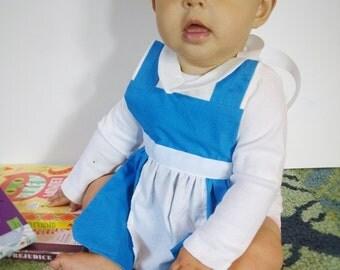 Princess dress up aprons for babies 6-12 months