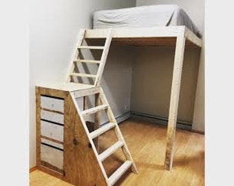 Loft Bed(five boroughs & Jersey only)
