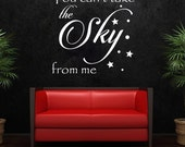 Wall Decal, Firefly, Serenity, You can't take the sky from me, Wall Stickers, Geeky Wall decal, Wall Decals, Firefly Decals, Serenity Decals