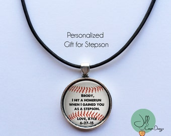 Gift For Stepson On Wedding Day : ... stepson i hit a homerun when i gained you as a stepson gift for