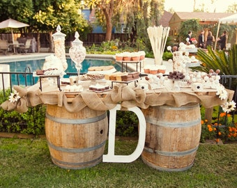 Burlap - Burlap Supplies - DIY Burlap - Burlap by the roll -  Rustic Weddings- Two rolls of 50cm wide by 10 m long - Burlap Runner