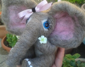 Needle Felt Elephant Custom Slot