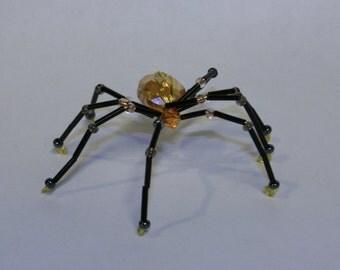 Iridescent Orange Spider