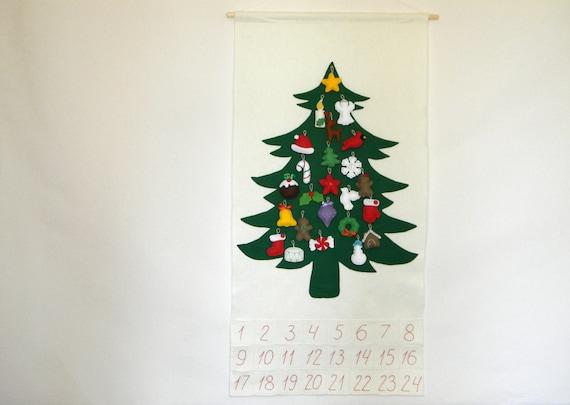 Christmas Tree Advent Calendar With 24 By Rainbowsmileshop