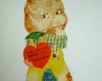 Vintage 1930's Humorous Valentine Card