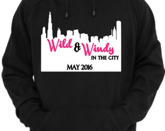 Wild & Windy In The City Hoodie